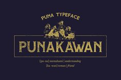 Adhreza's Bundle + PUNA Typeface by Adhreza on @creativemarket
