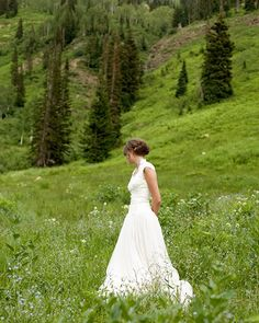 well, obviously we wouldn't do this for a wedding, but it is gorgeous!