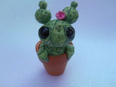 Hey, I found this really awesome Etsy listing at https://www.etsy.com/listing/245808561/handmade-cactus-sculpture-cute-potted