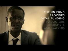 From Horror to Healing: Rehabilitation of Torture Victims -(Trailer) Brief video in recognition of International Day Against Torture Important Days And Dates, International Day, Human Rights, Things To Think About, Horror, Healing, Student, Life