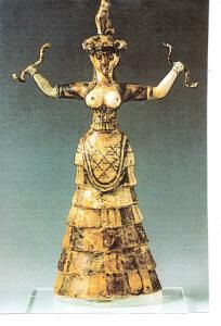 Anat, Ancient War Goddess. She seems like a Tribal Goddess, just saying...