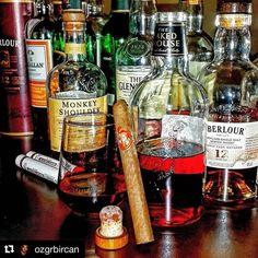 Naked Grouse etiketsiz çıplak şişesiyle adeta 'şova ihtiyacım yok ben zaten iyiyim' der gibi... @ozgrbircan eşlikçi olarak bir Vasco de Gama seçmiş#Repost @ozgrbircan with @repostapp  #nakedgrouse #famousgrouse #macallan #highlandpark #singlemalt #blended #scotch #whisky #whiskylover #highland #speyside #islay #lowland #cubancigars #cigars #habana #vascodegama #meleklerinpayi #bugünviskim