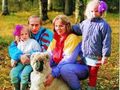 Президент Путин с семьей