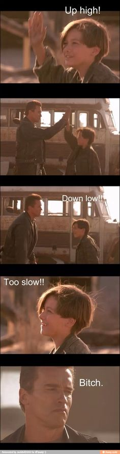Terminator - Terminator Funny - Terminator Funny Meme - - Terminator The post Terminator appeared first on Gag Dad. King Kong, Terminator 2 Movie, Normal Movie, Kyle Reese, Man In Black, Edward Furlong, John Connor, Great Movies, Awesome Movies