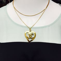 Chanel Heart CC Logo Vintage Gold Tone Pendant Authentic CHANEL Gold Tone Open Heart Vintage CC Logo Pendant NECKLACE IS THIS POSTING IS ABSOLUTELY NOT INCLUDED! Famous CHANEL Hallmark Displayed clearly on back. Will ship to you in black CHANEL drawstring jewelry pouch. RETAIL $700 I AM A COMPLIANT POSHER SO PLEASE DO UNDERSTAND I WILL NOT ACCEPT PAYPAL, I DO NOT TRADE, ALTHOUGH I THINK IM PRETTY CUTE LOL- IM A LOGISTICS BROKER, NOT A MODEL SO PLEASE DO NOT ASK FOR A PICTURE OF ME WEARING…