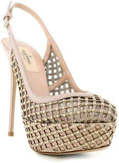 Valentino, sexy nude heels!