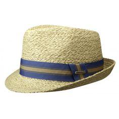 Chapeau Mandalo Raphia stetson - achat chapeau de paille - 49 euros - Chapellerie Traclet