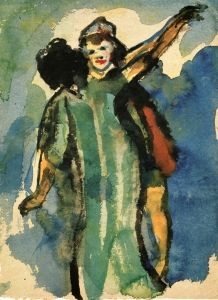 People Dancing - Emil Nolde - The AthenaeumEmile Nolde (German~Danish 1867~1956) | He was one of the first Expressionists, a member of Die Brücke.Artist Emile NoldeFosterginger.Pinterest.ComMore Pins Like This One At FOSTERGINGER @ PINTEREST No Pin Limitsでこのようなピンがいっぱいになるピンの限界He was one of the first Expressionists, a member of Die Brücke, and is considered to be one of the great oil painting and watercolour painters of the 20th century.