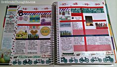 "3rd Grade Thoughts: ""Making My Erin Condren Life Planner Work for Me!"" Review #eclifeplanner14"