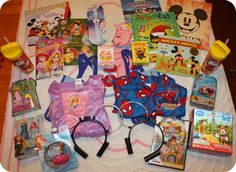 Mickey mail for trip to Disney. Cute idea!!!