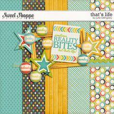 DigiScrap Parade: Free Mini Kit from Julie Billingsley Designs: Color Set