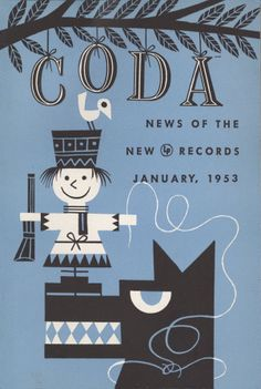 Jim Flora-designer of album covers for Columbia around 1945. Around 1947 he began a series of idiosyncratically stylized, cartoonish covers