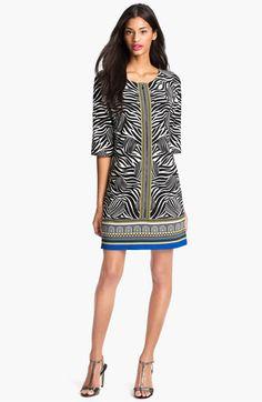 Segal Print Jersey Dress