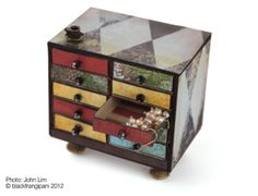 Miniature Matchbox Chest Tutorial