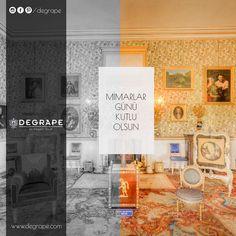 Ve günün sonunda sevgili mimarlarımızı da unutmadık. Yaşam alanlarımıza renk katan değerli mimarlarımızın Mimarlar Günü Kutlu Olsun... #mimarlargünü #degrape #perde #izmir #curtain #color #home #mimar #decor