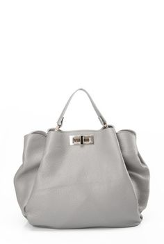 Geanta gri din piele naturala MARGO -  Ama Fashion Bags, Fashion, Handbags, Moda, Fashion Styles, Fashion Illustrations, Bag, Totes, Hand Bags