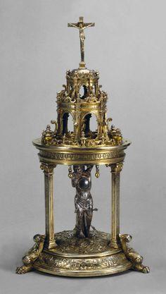Anonimo, reliquario di san Sebastiano (terzo quarto del XVI secolo),  Coimbra, Portogallo,  Museu Nacional de Machado