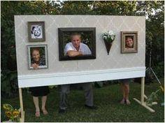 Wedding Wall -- Photo Booth Idea
