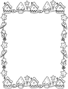 christmas picture frames coloring pages - photo#5