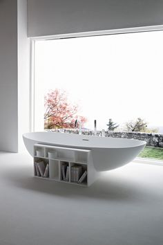 The best new finds to update your bathroom gallery - Vogue Living Kartell by Laufen 'All Saints Transparent' mirror and 'Sound-Rack' cabinet. Bad Inspiration, Bathroom Inspiration, Interior Inspiration, Bathroom Ideas, Bathtub Ideas, Bathroom Trends, Bathroom Interior, Modern Bathroom, Master Bathroom
