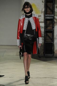 Proenza Schouler RTW Spring 2013. Too close to a fireman's outfit? IDK, me likey....
