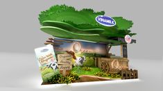VINAMILK | Booth 4x2 concept on Behance