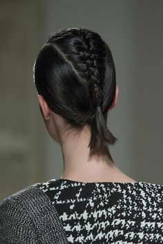 If you're stumped on how to wear your hair try the versatile braid! #braids #hair #look #fashion #beauty