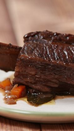 Spiced Beef Short Ribs Cook this low and slow for an epic stew!<br> Cook this low and slow for an epic stew! Rib Recipes, Cooking Recipes, Beef Fillet Recipes, Slow Cooking, Recipies, Ribs Recipe Oven, Spiced Beef, Bon Dessert, Beef Dishes
