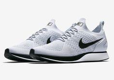 Nike Zoom Mariah Flyknit Pure Platinum White Black 918264-002 | SneakerNews.com