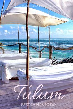 Read all about things to do in Tulum, Tulum restaurants, Tulum food, Tulum hotels, Tulum beach, Tulum ruins and Tulum design in this Tulum Mexico travel guide! #tulum #mexico #travelguide #beachvacay