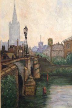Bishop bridge 1923 by Alex Beschurner