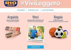 Vincere 200€ in Attrezzature Sportive con Rio Mare