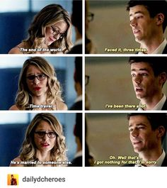 Kara & Barry - Supergirl 3x08/Part 1 of Arrowverse crossover