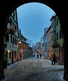 The city I once lived in...Ansbach, Germany
