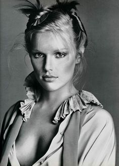 patti hansen by richard avedon