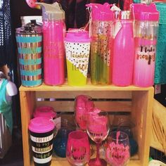 New gifts- water bottles, wine glasses, coffee mugs & tumblers! Even some for teachers for those Back To School gifts!  #thepinkpug #thepinkpugshop #thepinkpugmidland #midland #midlandtx #gifts #gift #waterbottle #coffee #coffeemug #coffeecup #workout #nap #wine #wineglass #teacher #teachergifts #boutique