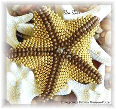 Sea Star TUTORIAL all about the shape par SheWalksinCrystal