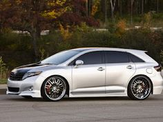 The Toyota SportLux Venza by Street Image was designed to be offered as a factory tuned model. Toyota Venza, Toyota Celica, Best Classic Cars, Mini Trucks, My Ride, Car Pictures, Used Cars, Cars Motorcycles, Vintage Cars