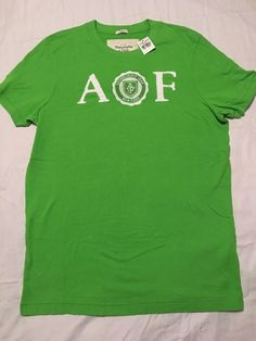 09e765ee86bc Abercrombie Amp Fitch 2XL Men 039 s Green Short Sleeve Muscle T Shirt  Fitted Athletic