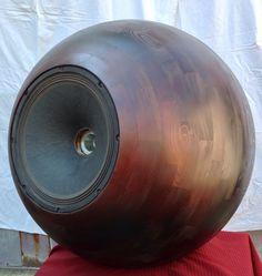 LS+Sphere 800 Music Speakers, Sound Speaker, Diy Speakers, Bookshelf Speakers, Audiophile Speakers, Hifi Audio, Creative Audio, Diy Bluetooth Speaker, Best Home Theater System