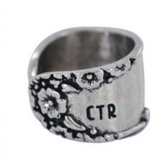 Sage Sister Missionary Line: Blossom Ring Size 6. Way super cute CTR ring! Perfect for LDS sister missionaries!