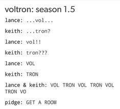 Season 1.5 vol tron
