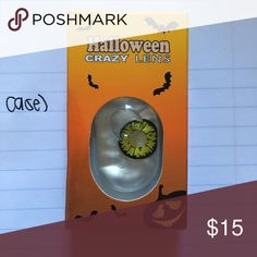 HALLOWEEN LENS AND CASE 1 pair + a FREE case with purchase. BUNDLE and save even more!! Jewelry Bracelets