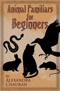 Animal Familiars for Beginners-A good book for learning the basics of working with animals in spiritual and magical ways.    Review located:  http://seekersight.wordpress.com/book-reviews/wiccan-books/animal-familliars-for-beginners/