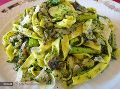 Wild Garlic, Pesto, Potato Salad, Zucchini, Cabbage, Potatoes, Vegetables, Ethnic Recipes, Food