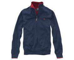 Men's Merino Wool Half-Zip Sweater - Timberland