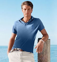 Tireless Lacoste Gator Logo Short Sleeve Polo Size 8 Blue Mens Shirt Shirts Men's Clothing
