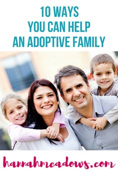 Want to support an adoptive family but not sure how to offer? Try these 10 ways to help an adoptive family. Struggling to ask friends for help? Share this! Step Parent Adoption, Open Adoption, Foster Care Adoption, Step Parenting, Parenting Plan, Parenting Humor, Adoption Books, Bring Up A Child, Adoption Agencies