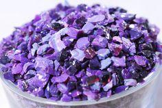 NEW Gaffer Royal Purple  Glass Frit  K2  CoE 96  by BeadbugFrit
