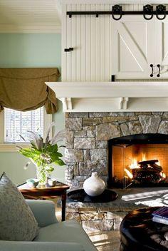 Das Wohnzimmer Rustikal Einrichten   Ist Der Landhausstil Angesagt? Wohnzimmer  IdeenKamin ...